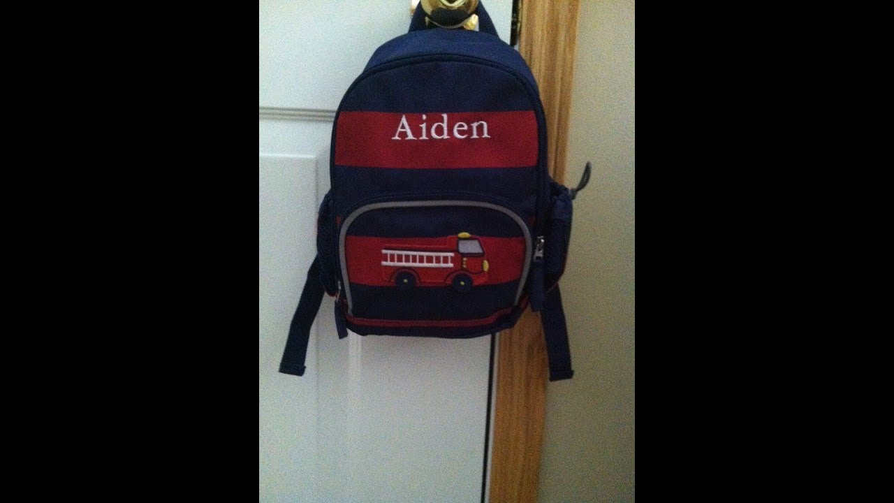 Pottery Barn Kids Backpack Review