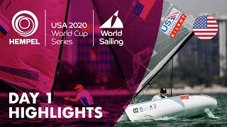 Day 1 Highlights | Hempel World Cup Series Miami 2020
