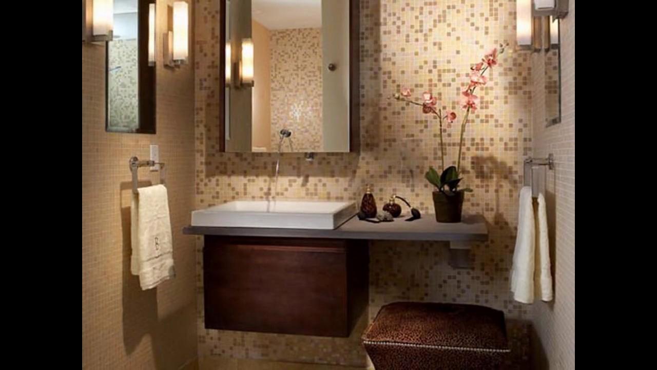 Kleine Badezimmer Fliesen Design Ideen Youtube