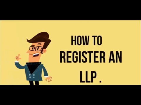 How to register an LLP ?