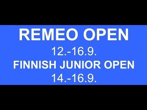 Remeo Open Squash 15.9.2018