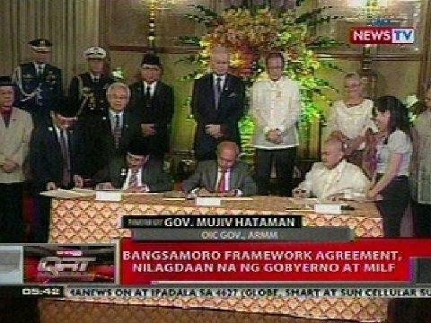QRT:  Panayam kay Gov. Mujiv Hataman tungkol sa Bangsamoro framework agreement