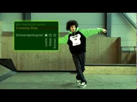 GORILLA Breakdance - Crossing Step (4) D