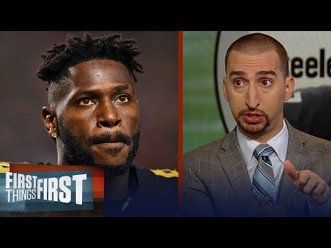 Nick Wright believes Antonio Brown's Week 17 benching is a big deal | NFL | FIRST THINGS FIRST