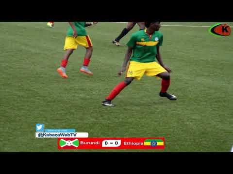 BURUNDI 1 - 0 ETHIOPIA : #CECAFAU17