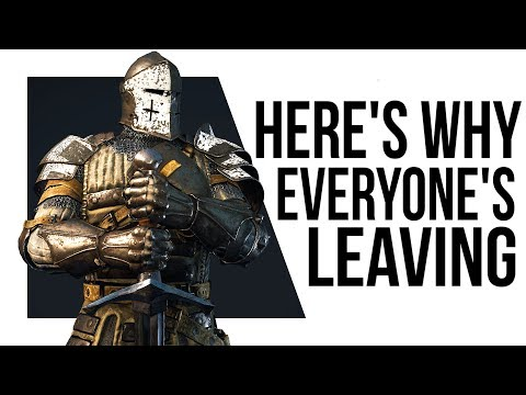 Why is NO ONE Playing For Honor?