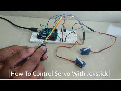 Arduino 07: Servo, Serial Monitor and Joystick | FunnyCat TV