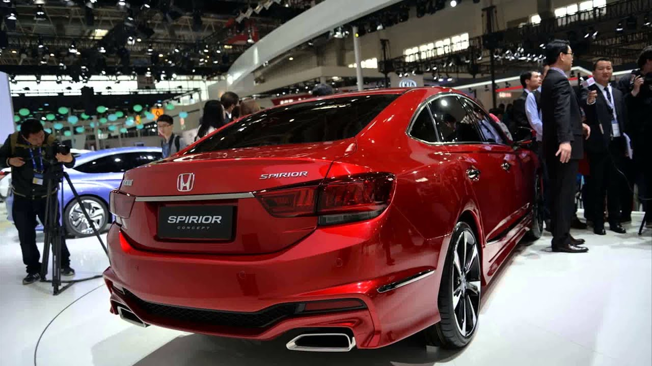2016 honda accord coupe concept - YouTube