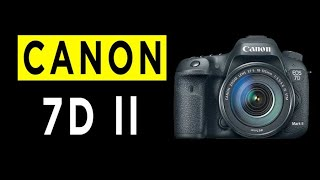 Canon EOS 7D Mark ll DSLR Camera Highlights amp Overview -2021