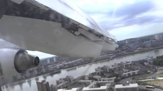 cityjet avro rj 85 takeoff from london city hd