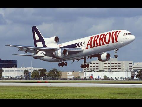 Arrow Air Cargo Promo - Early 1990's / Final No Audio