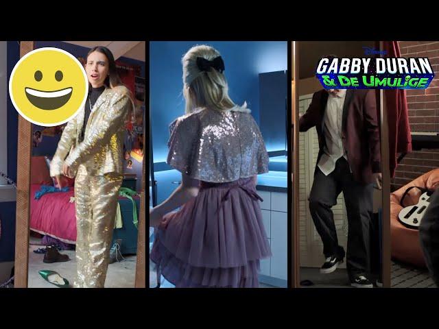 Det rigtige outfit | Gabby Duran | Disney Channel Danmark