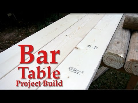 Bar Table Build Video You