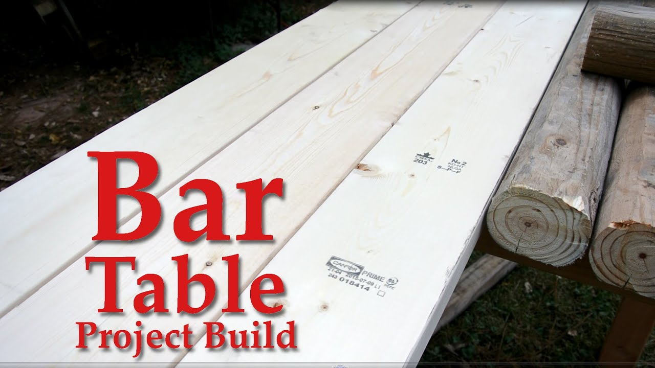 Superieur Bar Table   Build Video   YouTube