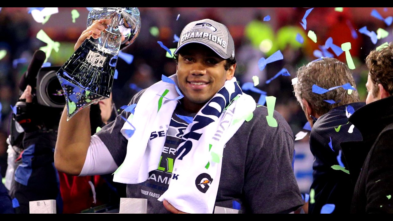 Russell Wilson Secures the Bag From Seattle Seahawks