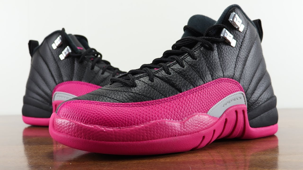 c01d7d345d1 AIR JORDAN 12 DEADLY PINK REVIEW