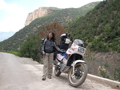 [Slow TV] Motorcycle Ride - Morocco - Chefchaouen to Akchour and back