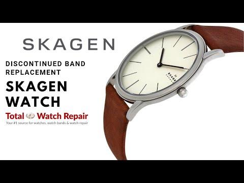 Discontinued Skagen Watch Strap Replacement