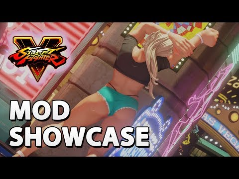 Street Fighter V - Mod Showcase with Casual Gameplay