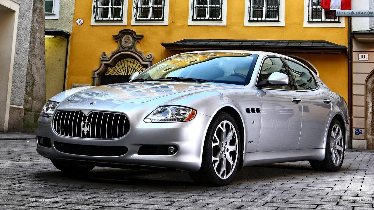 Maserati Quattroporte 2012 Тест драйв - YouTube