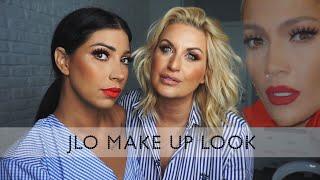 JLo make up look BY Aleksandra Orlandić Sretković