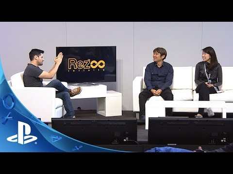 PlayStation Experience 2015: Rez Infinite LiveCast Coverage