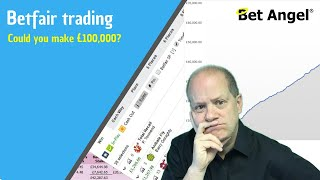 Betfair trading in 2020 - Could you make £100,000 a year?