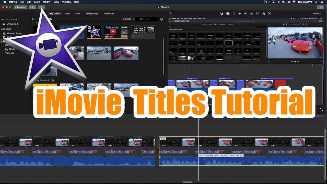 How to Add Subtitles in iMovie 11/10/9/8