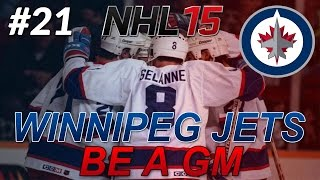 NHL 15: Legend GM Mode: Winnipeg Jets #21