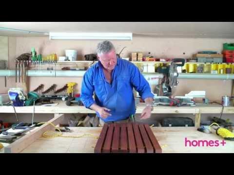 SCOTT CAM DIY: Timber doormat - homes+