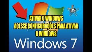 ATIVANDO SEU WINDOWS 7 E REMOVENDO MENSAGEM PIRATA