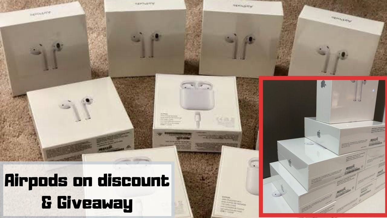 4a842700b45 AirPods 2 best deals & giveaway | Cellbuddy - YouTube