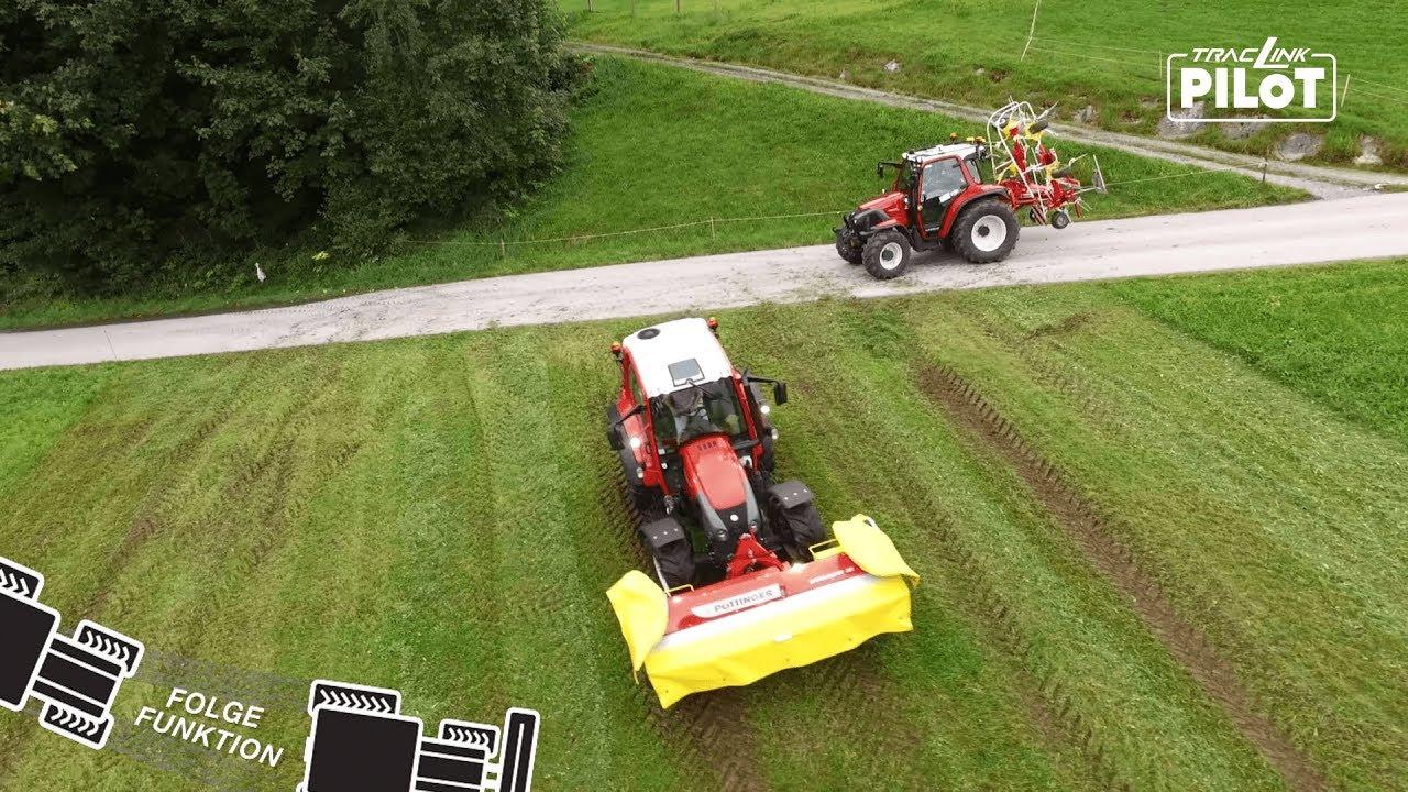 TracLink Pilot - Folgefunktion: Wie ein Landwirt mit zwei Traktoren gleichzeitig arbeiten kann?