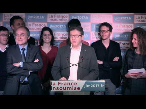 """Résultat de recherche d'images pour """"conférence de presse de la France insoumise"""""""
