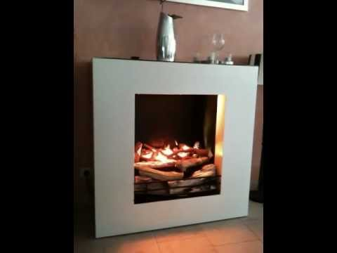elektrokamin linea faber optimyst interieur by youtube. Black Bedroom Furniture Sets. Home Design Ideas