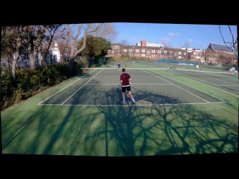 Tennis @ St. Anne's Well Gardens 18/02/2017