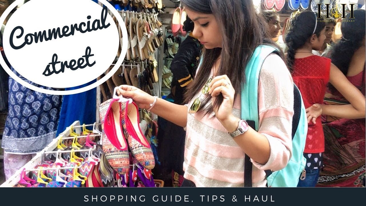 Image result for latest images of commercial street shopping place in bangalore
