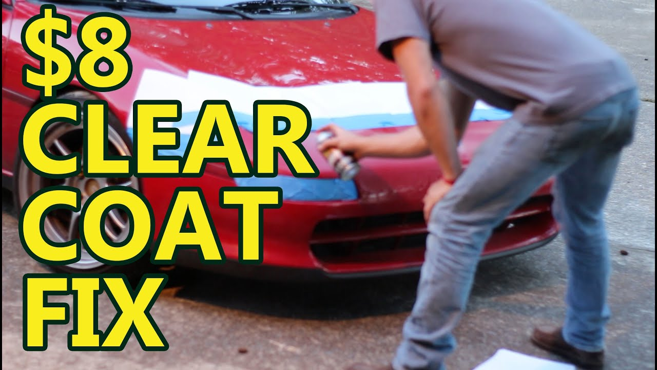 Diy car projects 8 clear coat fix youtube solutioingenieria Gallery