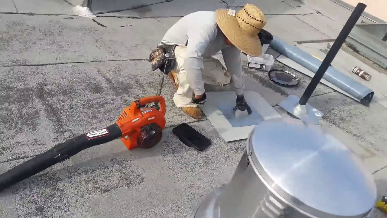 How To Properly Install A New Roof Jack On A Flat Roof