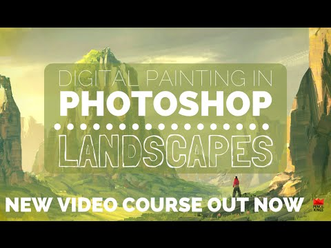 Learn How to Paint Epic Landscapes in Photoshop Easily