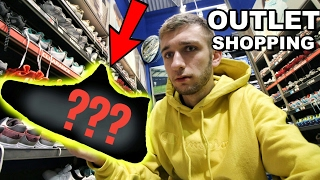 OUTLET SNEAKER SHOPPING!!! THESE WERE CRAZY!!!