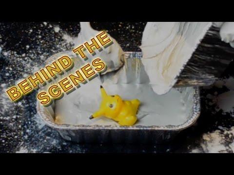 🎬 THE MAKING OF Pokémon Paleontology│Digging 4 Pikachu