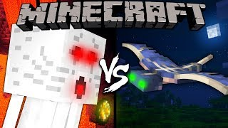 Ghast vs. Phantom - Minecraft