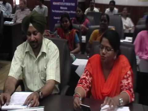 Closing Function for first batch of employment officer