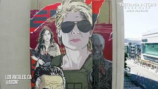Terminator: Dark Fate (2019) - Mural Campaign - Paramount Pictures