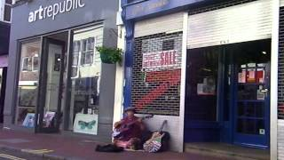 The Beatles - Till There Was You - Danny McEvoy - Busking in Brighton   June 2014