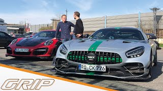 "700-PS-Tuning-Duell | Techart GTStreet RS vs. TIKT AMG GTR Pro ""Bastard"" 