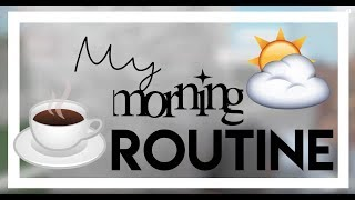 My Morning Routine in Roblox | gxldengloss