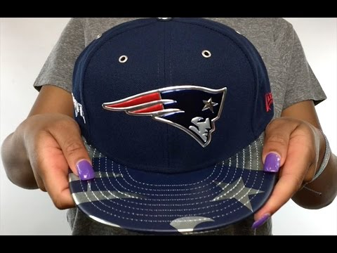Patriots  2017 SPOTLIGHT  Fitted Hat by New Era - YouTube 5bc5ea194