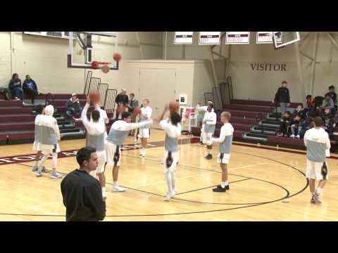 Wheaton Academy Boys Basketball vs Streamwood High School